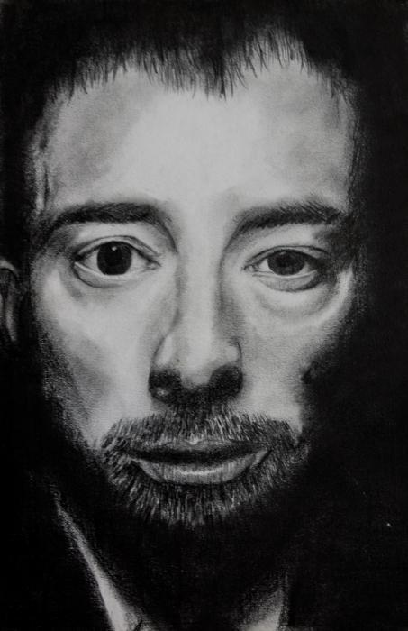 Thom Yorke by Flyinggiraffe